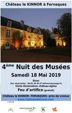 Affiche Nuit des Musées 2019 AVEC LOGOS-musées